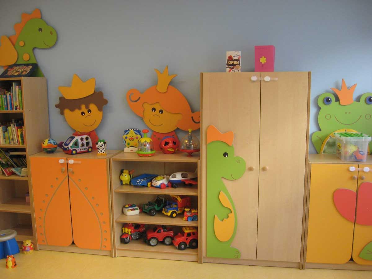 Leefruimte peuters Kinderdagverblijf Chipollino - Kinderopvang centraal in Antwerpen bij Rooseveltplaats. Groepsopvang, mini-creche, met wasbare luiers.